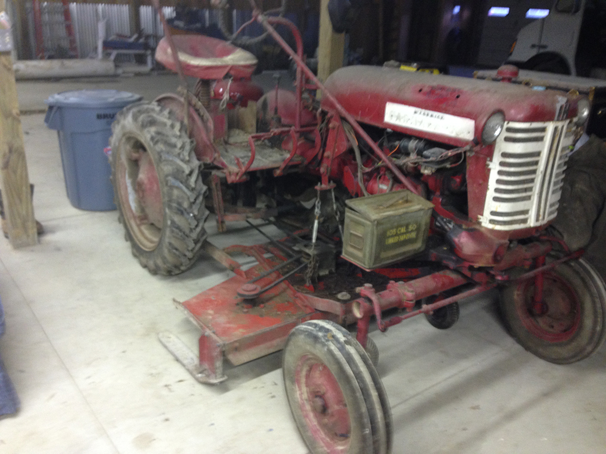 1598 Farmall Cub Mike Zemba Pre Restoration