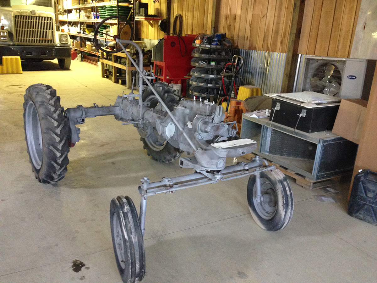1598 Farmall Cub Mike Zemba Under Construction