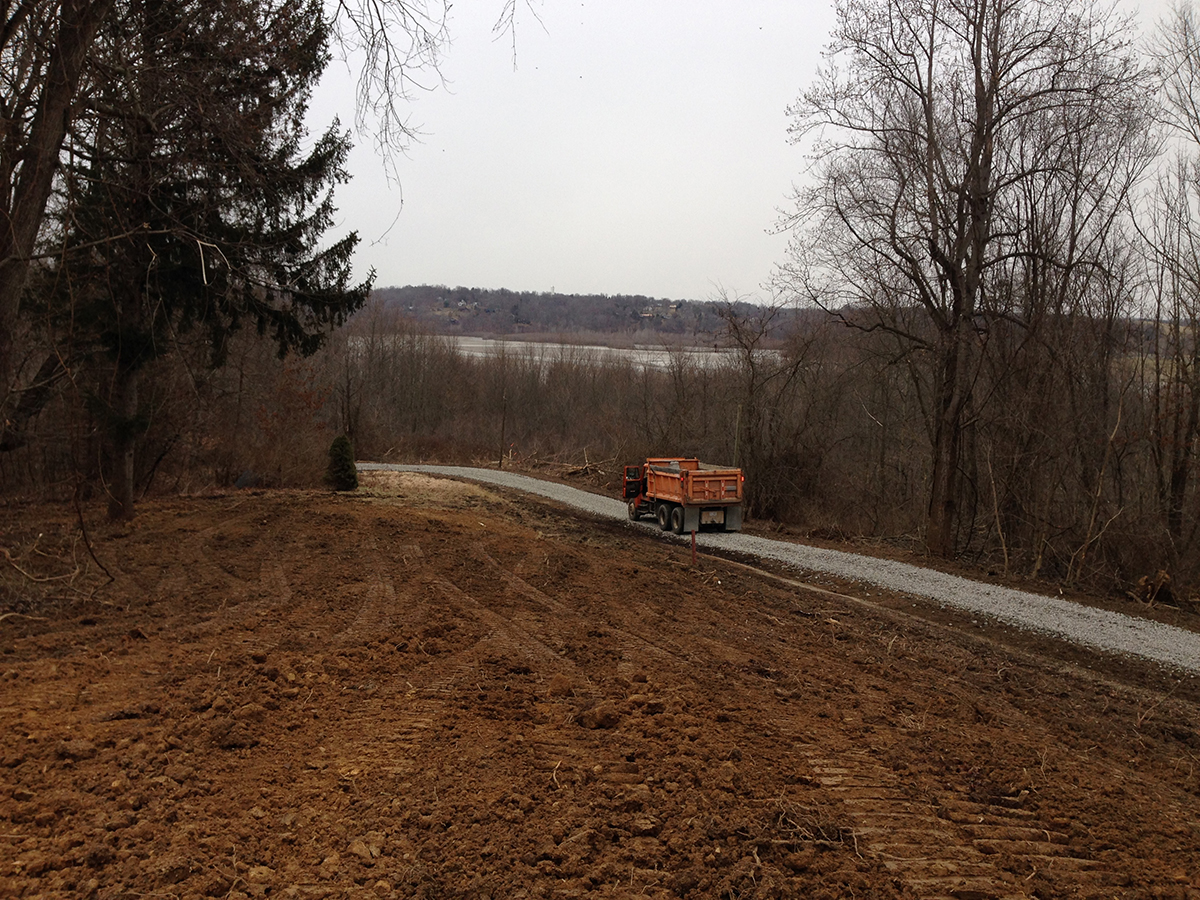 Champion Services Land Clearing Grade Driveway Installation