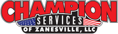Champion Services Septic Excavation Portable Toilets