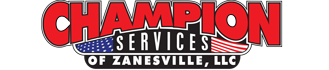 champion services zanesville septic excavation material hauling portable toilets